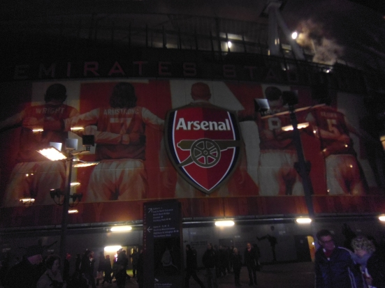 Lost in arsenal lost boyos for Emirates stadium mural