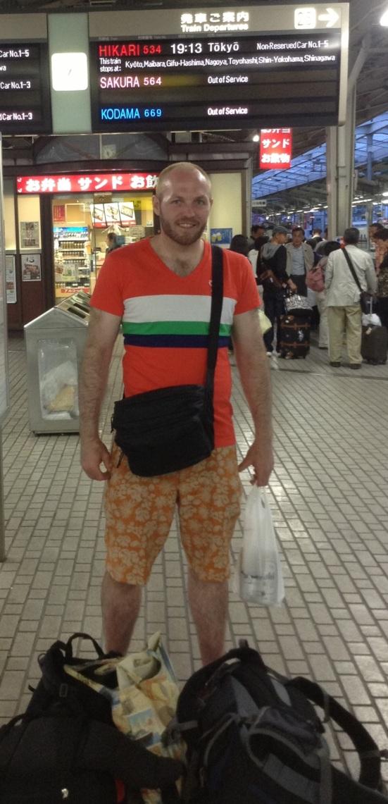At Shin-Osaka Station
