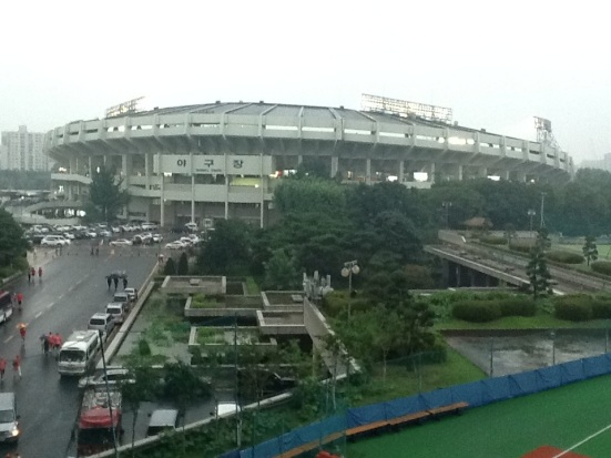 The Korean sports fan's first love: Jamsil Baseball Stadium