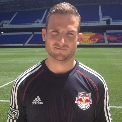 NY Red Bull's Aled Willams