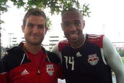 Aled Williams with Thierry Henry