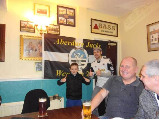 With the Aberdare Jacks.