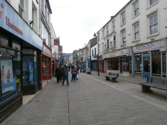 Aberdare town centre