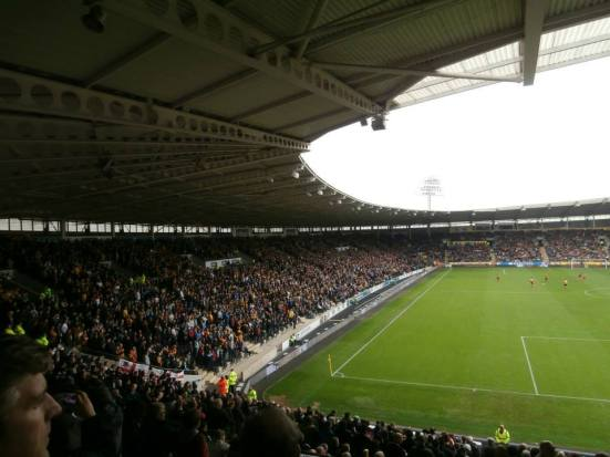 The South Stand.