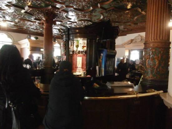 The strange heavy metal pub.