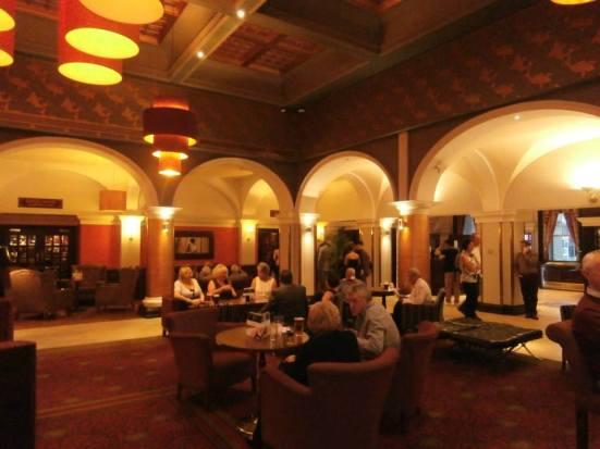 The plush surroundings of the Mercure Royal Hotel.