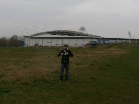 The strange wasteland area near the KC Stadium.