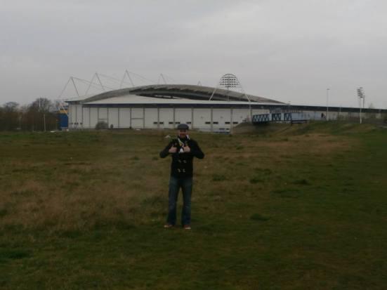 The strange wasteland area near the KC Stadium.