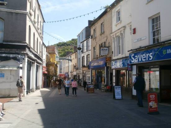 The main high street.