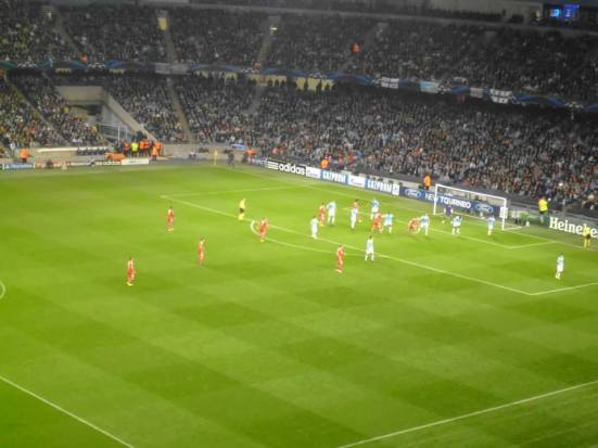 City v Bayern - an immense display from Bayern as they won 3-1 and in particular Phillip Lahm.