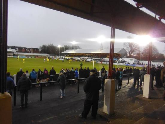 Victory Park - home of Chorley FC.
