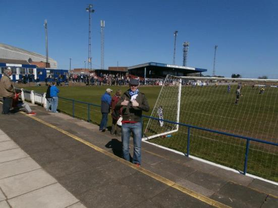 My 100th game of the season at Whitley Bay FC.