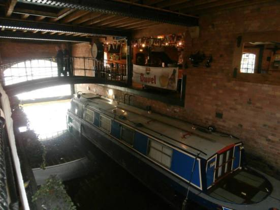 Inside The Canalhouse - what a bar!