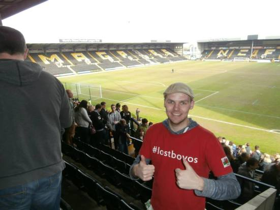 #lostboyos at Meadow Lane.