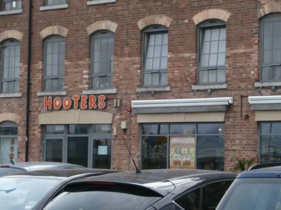 Hooters -back again.