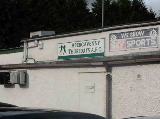 The famous Abergavenny Thursdays - sadly, no longer with us.