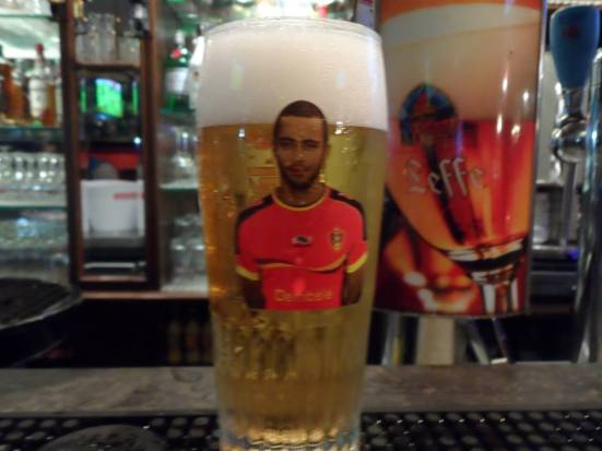 Finishing our weekend with some Moussa Dembele beer.