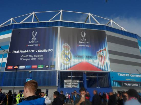 And the hosts of the 2014 Super Cup are...Cardiff!