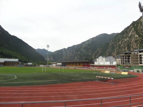 Andorra's old ground.