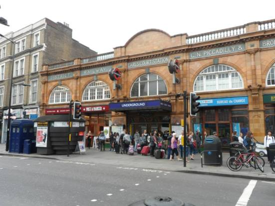 Earls Court station.