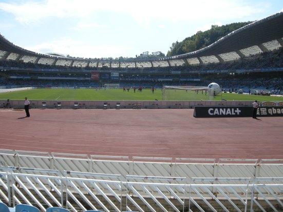 The track (vs. Almeria)
