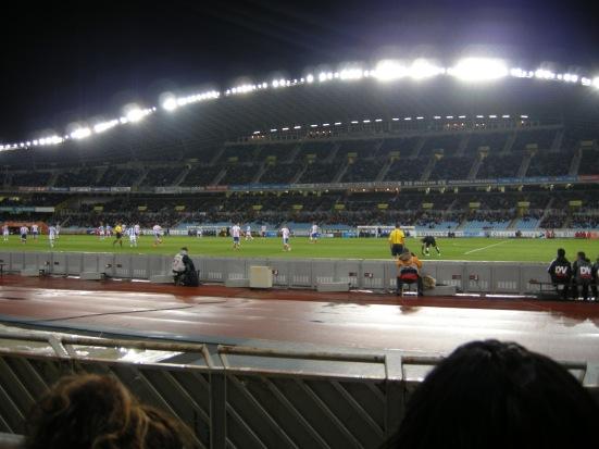 Lights on (vs. Atletico Madrid)
