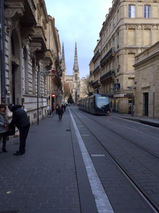 A Bordeaux tram
