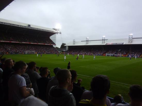 Selhurst Palace - one of the league's more interesting grounds.