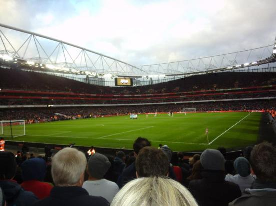 The Emirates.