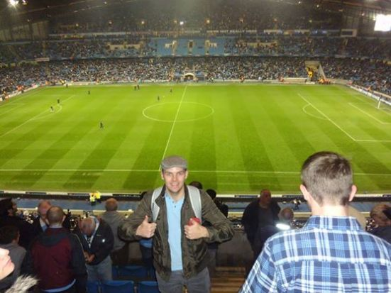 A double thumbs up to my favourite Premier League ground: The Etihad Stadium.