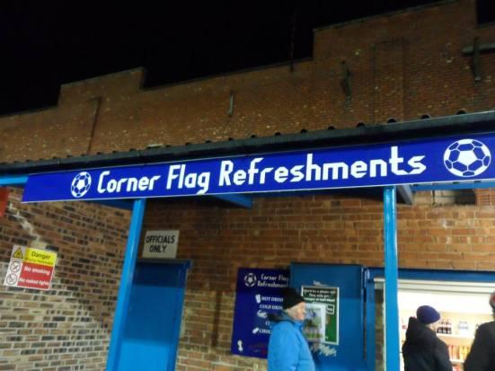 Corner Flag Refreshments.