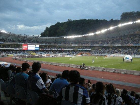 Plenty of txuri-urdin in the crowd (vs. Valencia)