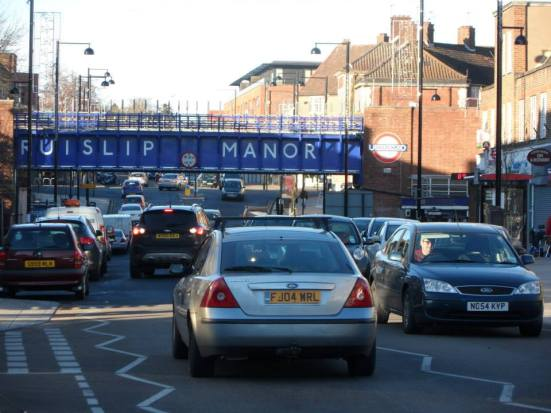 Arriving into Ruislip Manor.