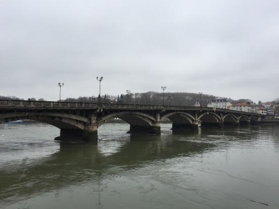 Bridge over the River Adour