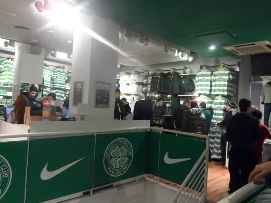 Celtic store on Argyle Street.