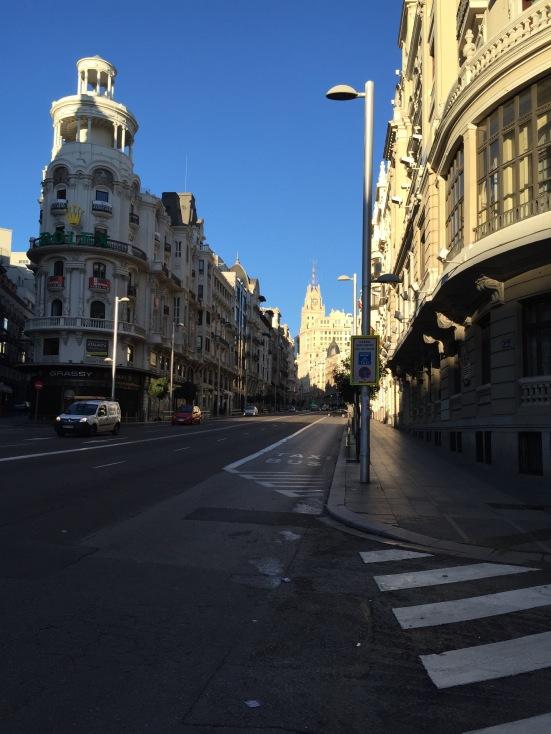 A very quiet Gran Via