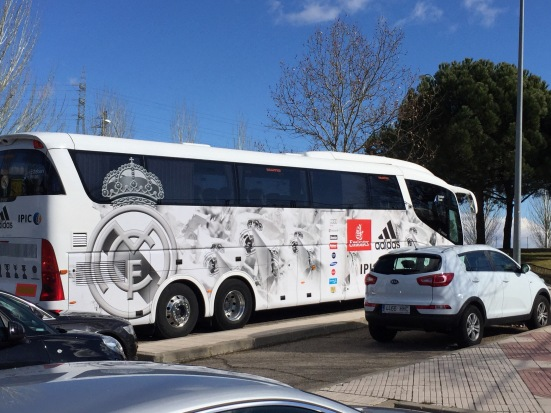 Real Madrid Bus Porn