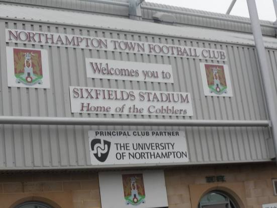 Welcome to Sixfields Stadium.