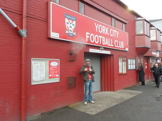 Thumbs up to York City.
