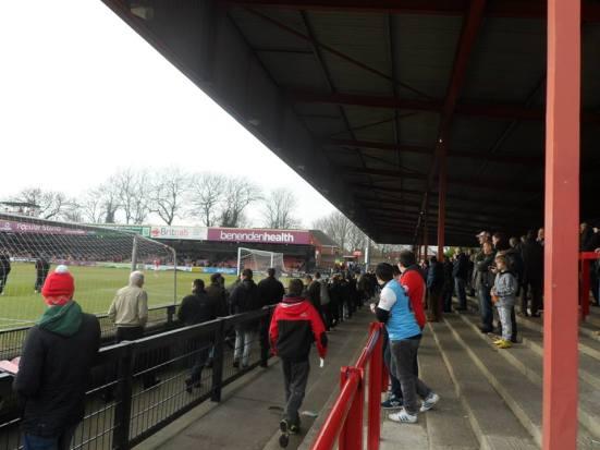 The David Longhurst Stand.