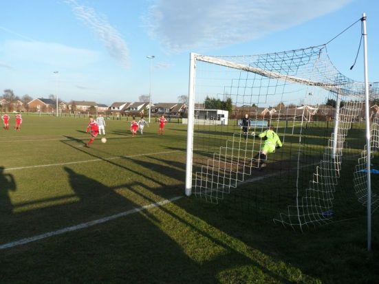 Darwen score their penalty to make it 3 - 3.