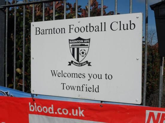 Barnton FC are the eventual 'winners' of the Lost Boyos draw.