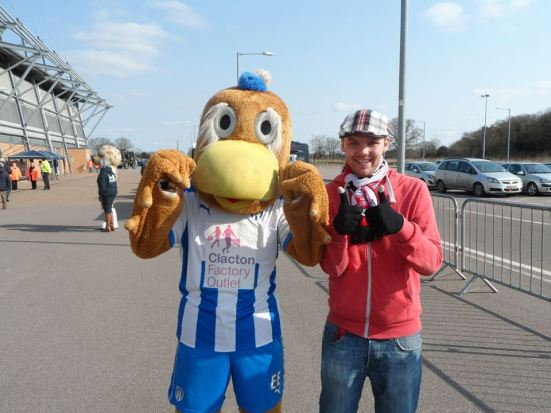 Me and Eddie the Eagle.