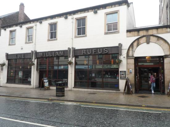 One of two Wetherspoons located just yards apart on the same street in Carlisle.