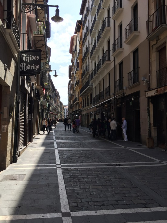 Calle Estafeta - the bit where people get trampled