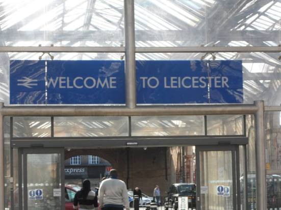 Welcome to Leicester.