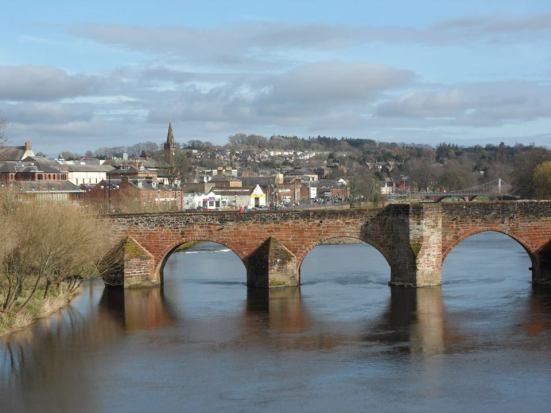 The River Nith.