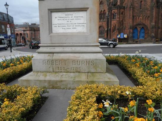 Robert Burns memorial.