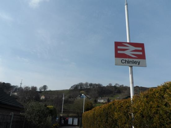 Arriving at Chinley...