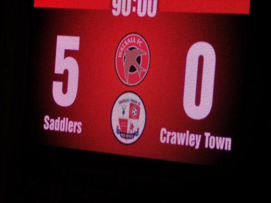 Oh dear Crawley...